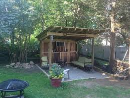 Backyard Grill Company by Backyard Bbq Shack Completed Was Supposed To Cover My Smoker But