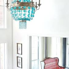 turquoise beaded chandelier chandelier turquoise beaded turquoise chandelier outdoor reception