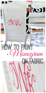 how to paint a monogram thistlewood farm