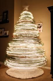 long exposure of christmas tree beamazed