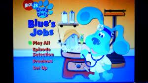 blue u0027s clues blue u0027s jobs
