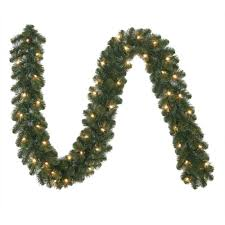 Outdoor Christmas Garland decorating pre lit garland greenery wreath pre lit battery
