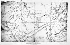 Oregon Country Map by Lewis And Clark Expedition