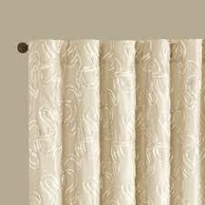 madison park westmont geometric pattern curtain panel single