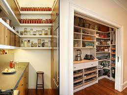 large pantry walk in with pull out shelves an additional fridge
