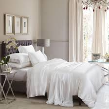 ivory silk bed linen high quality machine washable
