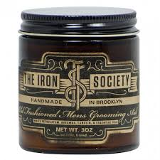 Pomade Tis iron society fashioned grooming aid pomade 3oz