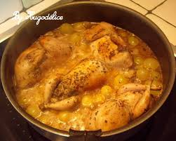 cuisiner caille cailles aux raisins frais hugodélice