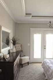 bedroom unique tray ceiling sherwin williams repose gray