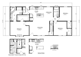 cape floor plans the noble cape manufactured home floor plan or modular floor plans