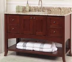 fairmont designs bathroom vanities fairmont designs shaker 48 open shelf vanity 125 vh48 bath