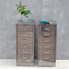Retro Filing Cabinet Vintage Retro Steel Vertical File Cabinet Customized Office Inside