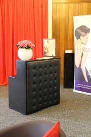 Reception Desk Hire Padded Reception Desk Hire Concept Furniture Hire Exhibition