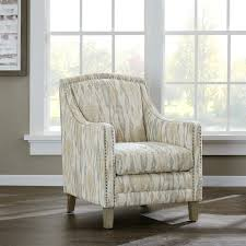 Nailhead Accent Chair Armchair Chairs Linen Nailhead Accent Chair Grey Nailhead Dining