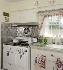 retro kitchen design decorating clear
