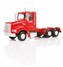 coca cola truck with light up trailer 1 43 scale diecast