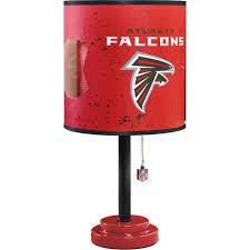 nfl die cut table lamp choose your team walmart com