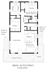 plan no 580709 house plans by westhomeplanners house bb459 treat floorplan level 2 jpg 1455 2172 tiny house