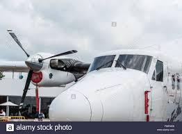 luxury private jet in singapore air show stock photo royalty free