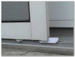 Replacing Patio Door Rollers by Replace Rollers On Sliding Glass Door