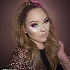 makeup school orlando pride tribute rainbow makeup tutorial makeup