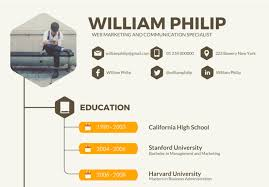 Infographic Resumes 70 Well Designed Resume Examples For Your Inspiration
