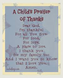 a child s prayer of thanks 12 blessings book giveaway