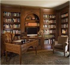 Best Home OfficeLibrary Images On Pinterest Office Ideas - Home office library design ideas
