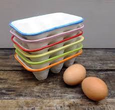 ceramic egg tray 12 handmade ceramic egg crate by gilbert and ceramics