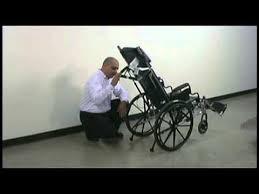 reclining wheelchair youtube