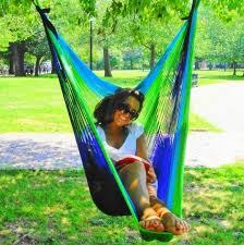 swinging chair perfect for any sized porch u2014 yellow leaf hammocks