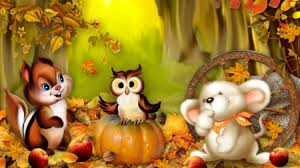 happy fall friends fields nature background wallpapers on
