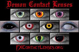 demon contact lenses demon eye contacts