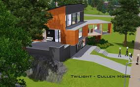 Sims 2 House Floor Plans by Mod The Sims Twilight The Cullen Home
