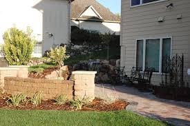 blaine front and back yard renovation at tpc visionary landscape