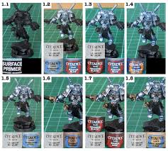 tutorial how to paint grey knights tale of painters