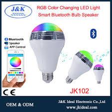 led light bulb speaker jk102 rgb led bulb bluetooth smart rgb led light bulb music speaker
