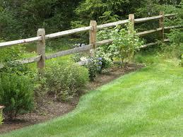exterior design cool split rail fence for yard railing ideas