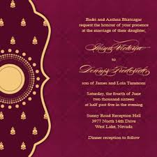 hindu wedding card wordings indian wedding card sles 18th century costumes