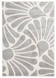 White Modern Rug by Modern Rug Rugs Decoration