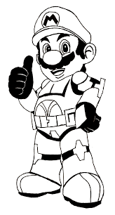 mario coloring pages good 11153