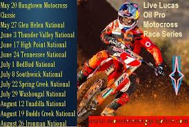 lucas oil pro motocross schedule articles