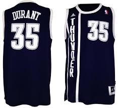 oklahoma city thunder 35 durant blue swingman jerseys jm12822