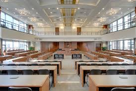 Interior Design Companies In Chicago by Loyola Of Law Courtroom Chicago Il U2013 Commercial