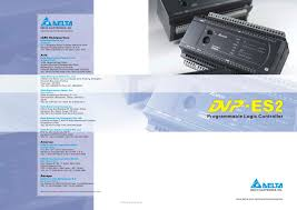 dvp es2 delta electronics inc pdf catalogue technical
