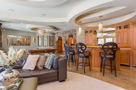 finished basement living area home design ideas