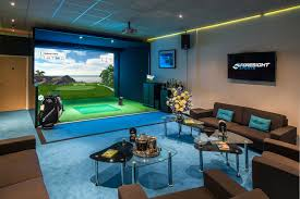 Home Golf Simulator by Foresight Sports It U0027s A Game Changer