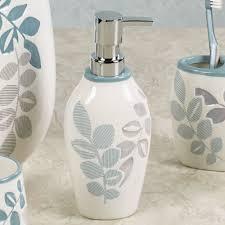 White Bathroom Accessories Ceramic by Bath U0026 Shower Exquisite Croscill Bath Accessories With Beautiful
