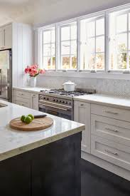 provincial kitchen shaker white grey hamptons style bellevue