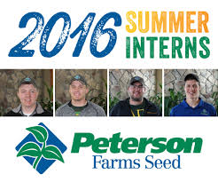 just a summer job it is so much more than that peterson farms seed